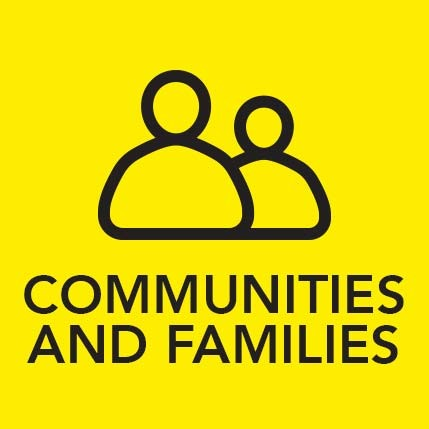 Communities and Families Icon