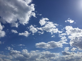 Clouds. Photo by Esther Anatolitis.