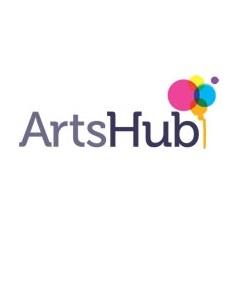 Artshub logo height