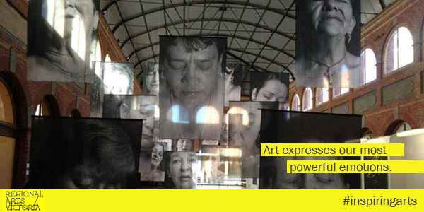 Advocacy campaign: Art expresses our most powerful emotions