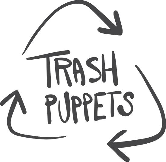 Trash puppets logo