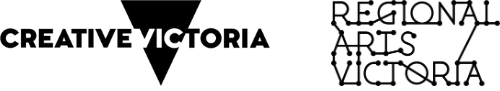 Creative Victoria and Regional Arts Victoria logos